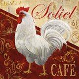 Soliel Cafe Art Print