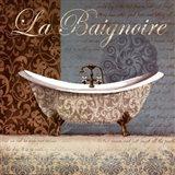 La Baignoire Art Print