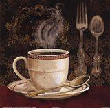Cafe Rouge Art Print