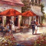 Cafe Afternoon I Art Print