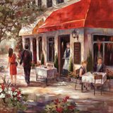 Cafe Afternoon II Art Print