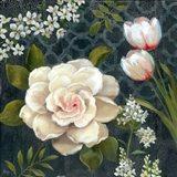 Midnight Garden I Art Print