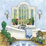 Pampered Bath I Art Print