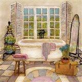 Sunny Day Bath II Art Print