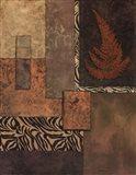 Exotic Fern II Art Print