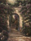 Watson's Garden I Art Print
