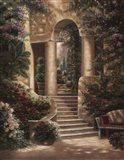Watson's Garden II Art Print