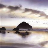 Twilight On The Coastline Art Print