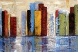 City of Colors Art Print