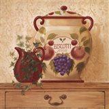 Biscotti Jar II Art Print