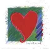 Love - heart Art Print