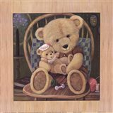 Bear Lullaby Art Print