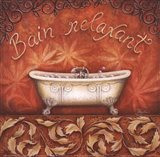 Bain Relaxant Art Print