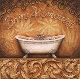 Bain de Mousse Art Print