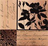 Noir Et Creme II Art Print
