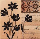 Noir Et Creme III Art Print