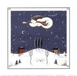 Winter's Arrival Art Print