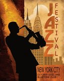 1962 Jazz in New York Art Print