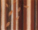 Striped Autumn I Art Print