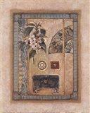 Asian Elements I Art Print