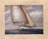 Wind and Sea Art Print