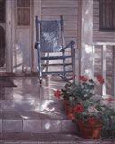 Georgia's Rocking Chair Art Print
