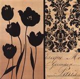 Noir Et Creme I Art Print