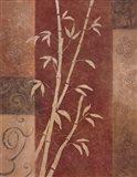 Bamboo Silhouette I Art Print