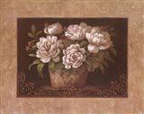 Garden Peonies II Art Print