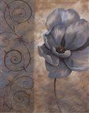 Fleur Bleue I Art Print