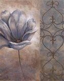 Fleur Bleue II Art Print