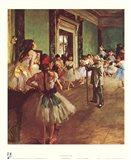Dancing Class Art Print
