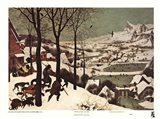 Winter/Hunters in the Snow Art Print