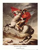 Bonaparte at Mont St. Bernard Art Print