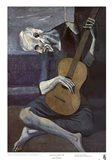 Old Guitarist Art Print