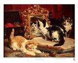 Kittens, 1893 Art Print