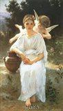 Whisperings of Love, 1889 Art Print