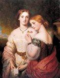 Two Victorian Beauties Art Print