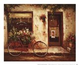 Stopping In Art Print