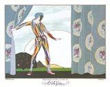 Arlequin Art Print