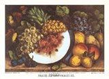 Fruits Autumn Varieties Art Print