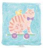 Cat Toy Art Print