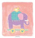 Elephant Toy Art Print