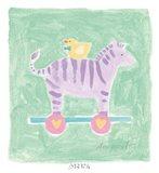 Zebra Toy Art Print