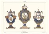 Porcelain Vases Art Print