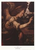 Angel (Detail from The Annunciation) Art Print