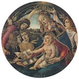 Crowning of the Virgin (Magnificat) Art Print