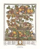 June/Twelve Months of Fruits, 1732 Art Print