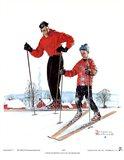 Ski Skills Art Print