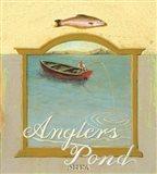 Angler's Pond Art Print